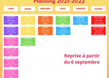 Planning 2021-2022